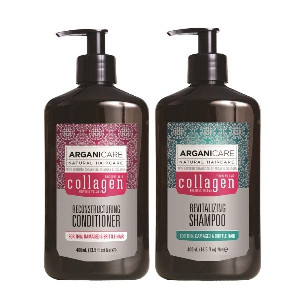 Arganicare Duo nutrition extrême à l'huile de Coco cheveux  très secs ,frisés , afros Shampooing  et après shampooing