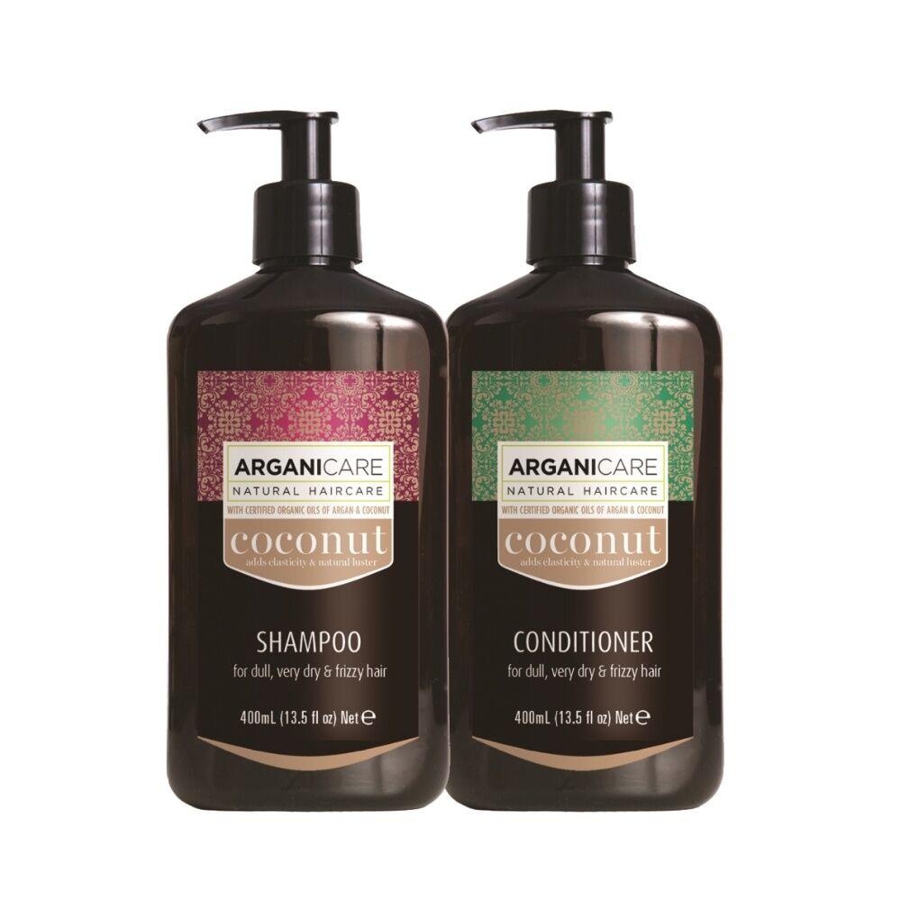 Arganicare Duo Volume au Collagène cheveux fins, dévitalisés, sans volume Shampooing  et après shampooing