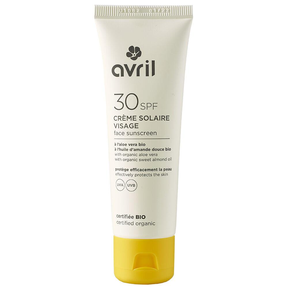 Avril Visage SPF 30 Crème solaire