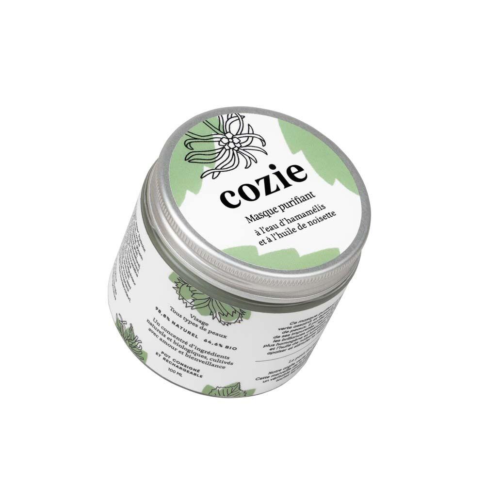 Cozie Soin Visage Masque purifiant, 125 ml