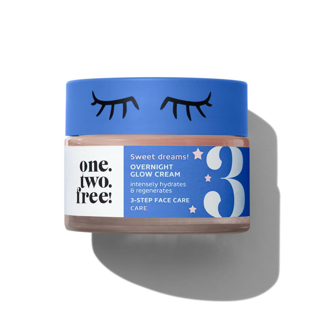 one.two.free! Overnight Glow Cream Crème de nuit Eclat