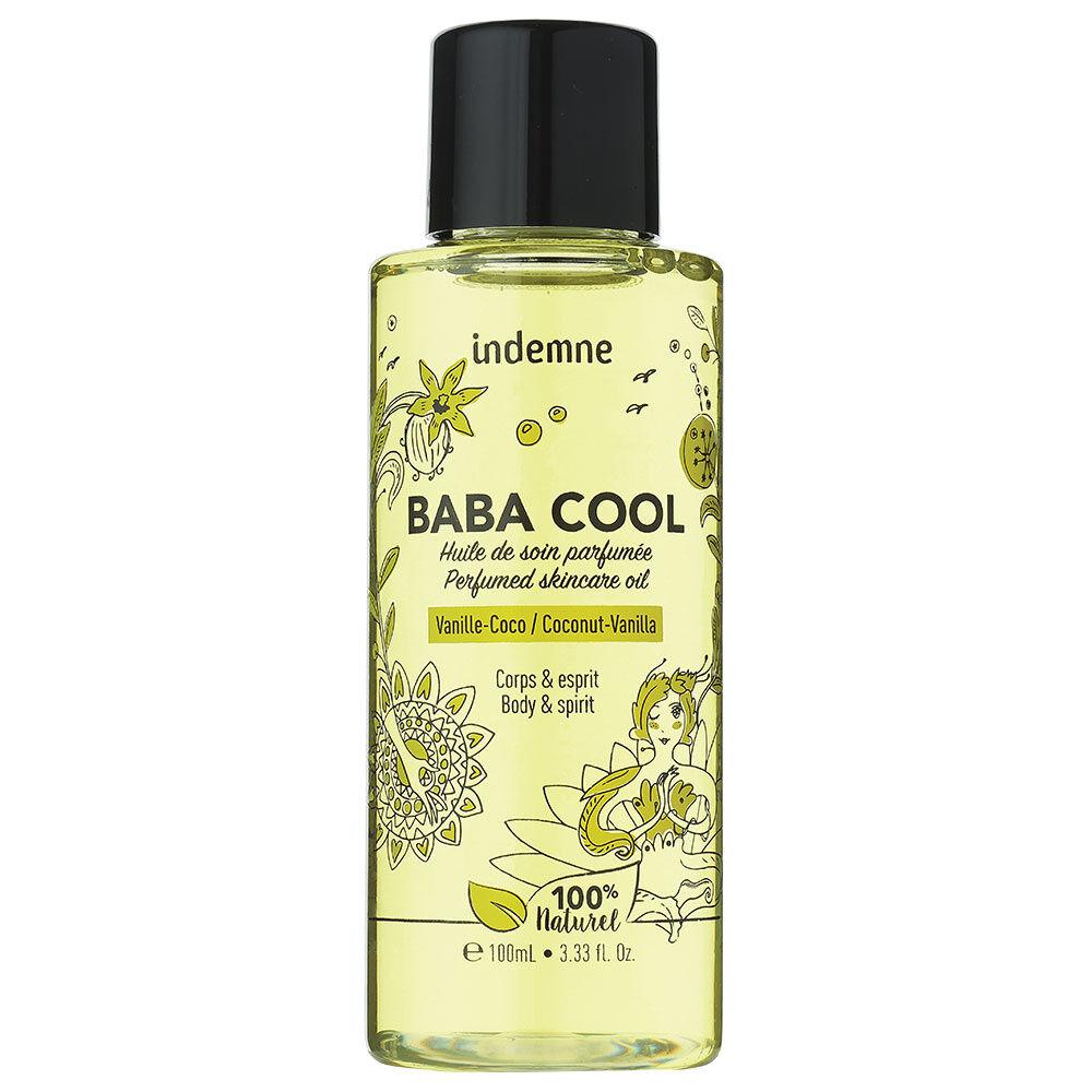 indemne Baba Cool - Vanille Coco Huile de soin parfumée corps et cheveux