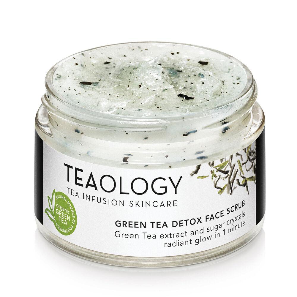 Teaology Green Tea Detox Face Scrub Gommage Détox Visage