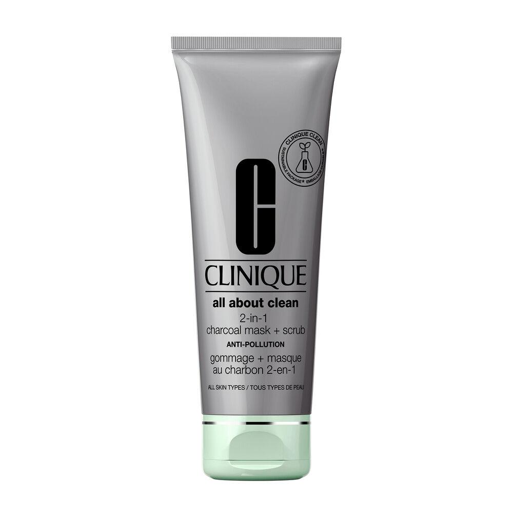 Clinique All About Clean All About Clean Gommage + Masque Au Charbon 2-en-1