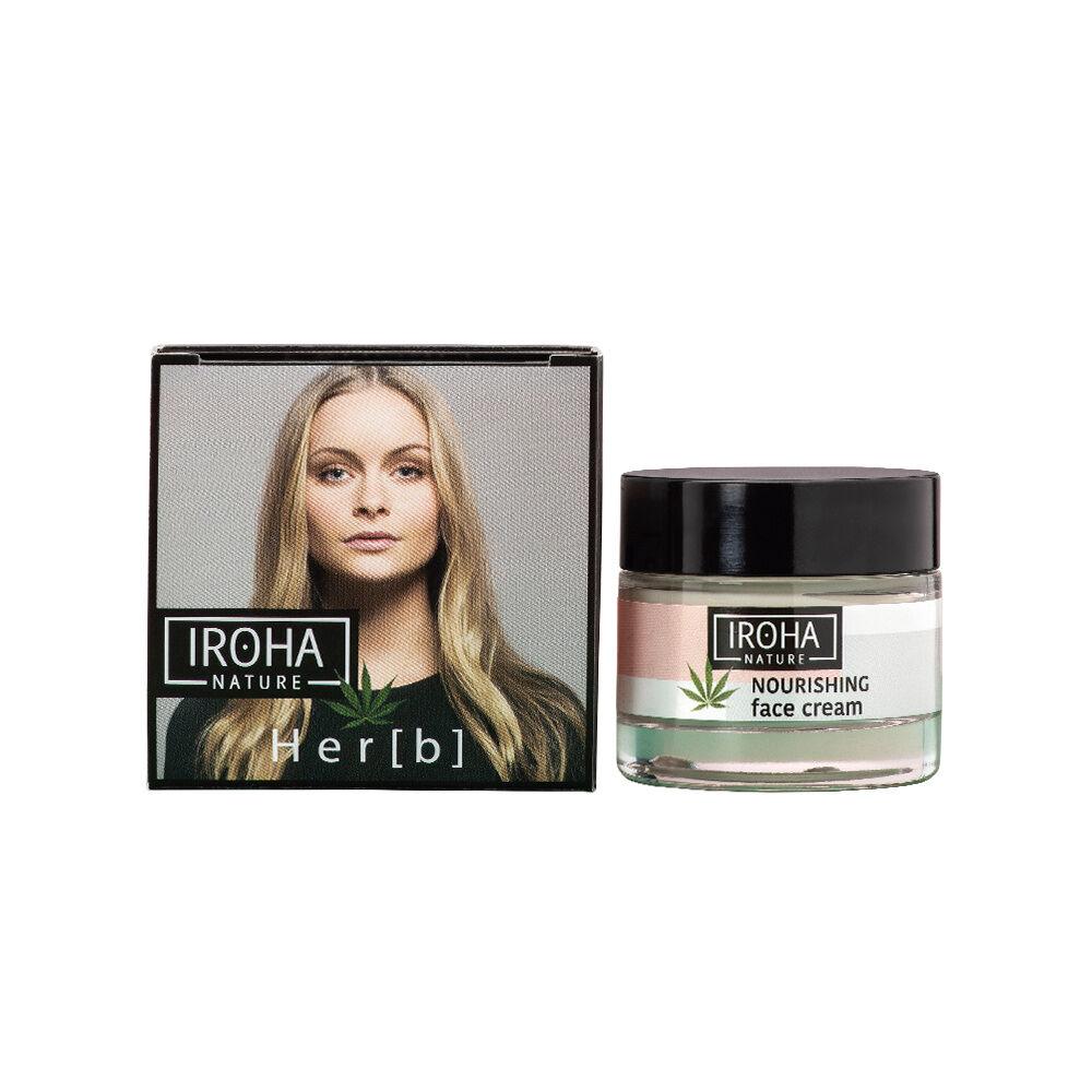 Iroha Nature Visage Crème pour le visage NUTRITIF&PROTECTRICE - HUILE DE GRAINES  DE CHANVRE