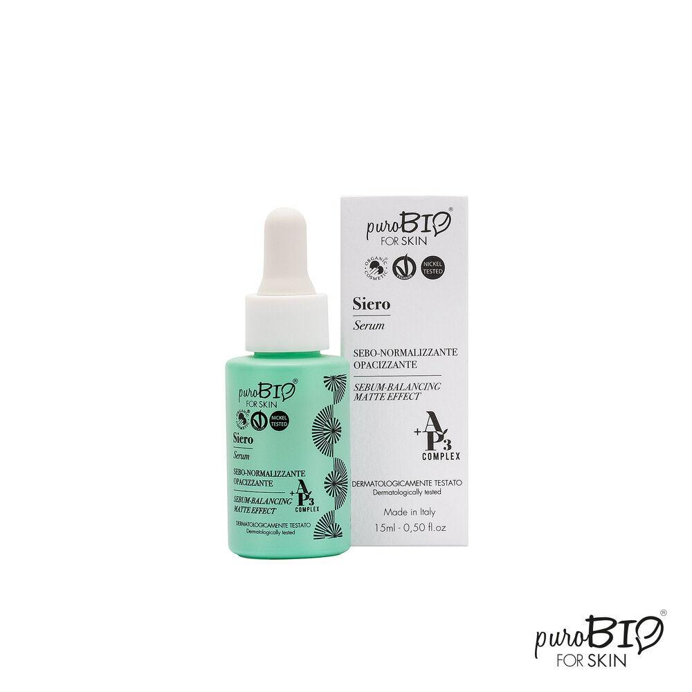 Purobio Ligne AP3® Sérum matifiant, peau grasse et mixte