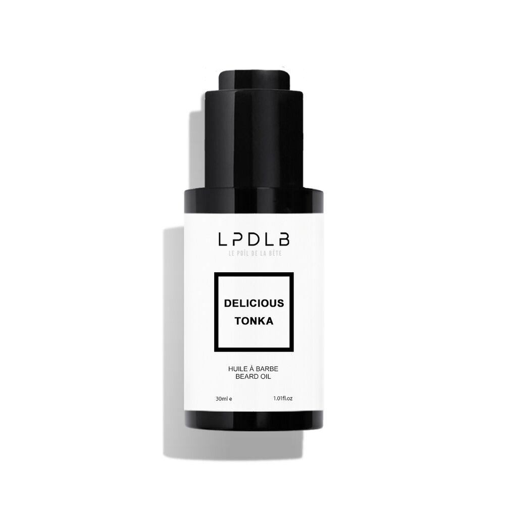 le poil de la bete Soin barbe / huile Huile à barbe Tonka, 30 ml