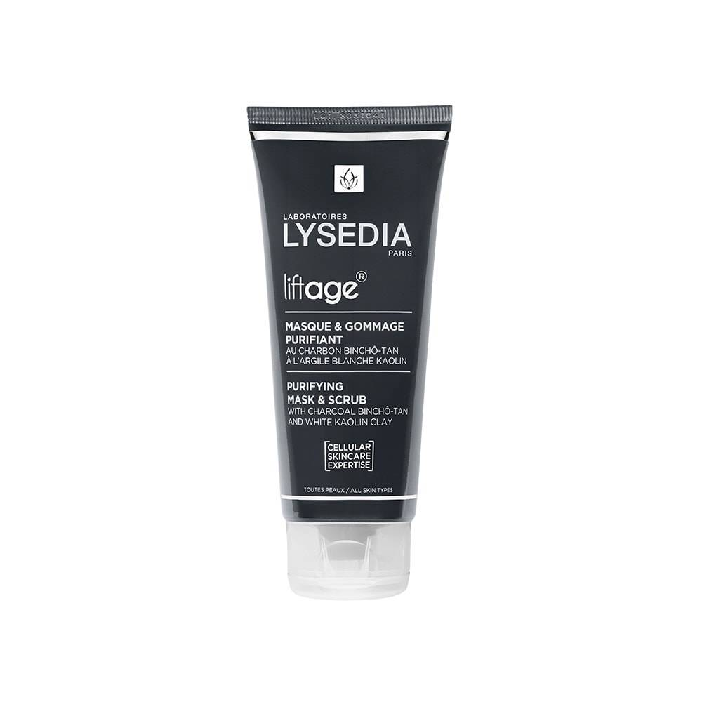 Lysedia Paris Revitalage Masque Purifiant Charbon-Argile - 100 ml