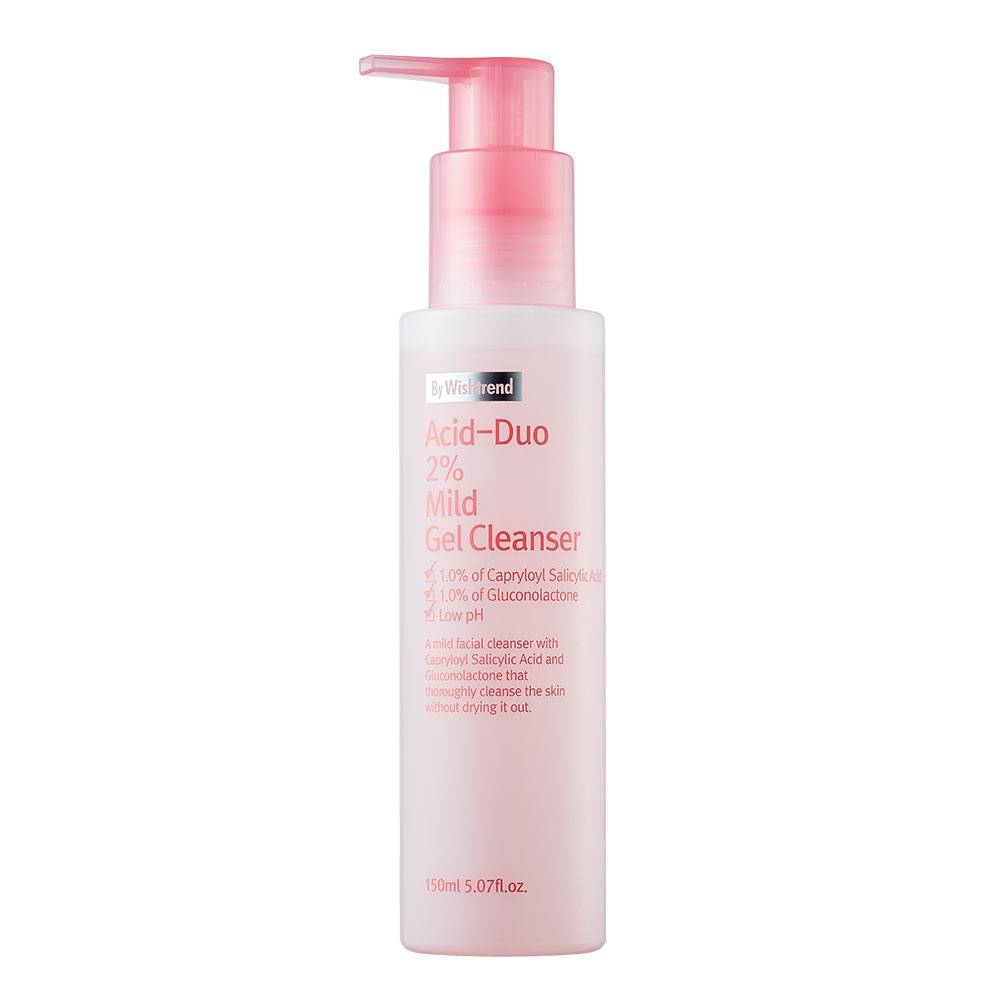 By Wishtrend  Gel nettoyant léger Acid-Duo 2% by Wishtrend