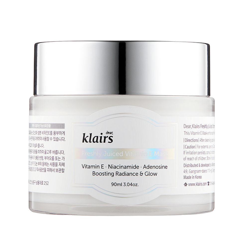 Dear Klairs  Masque vitamine E fraîchement pressée Dear Klairs