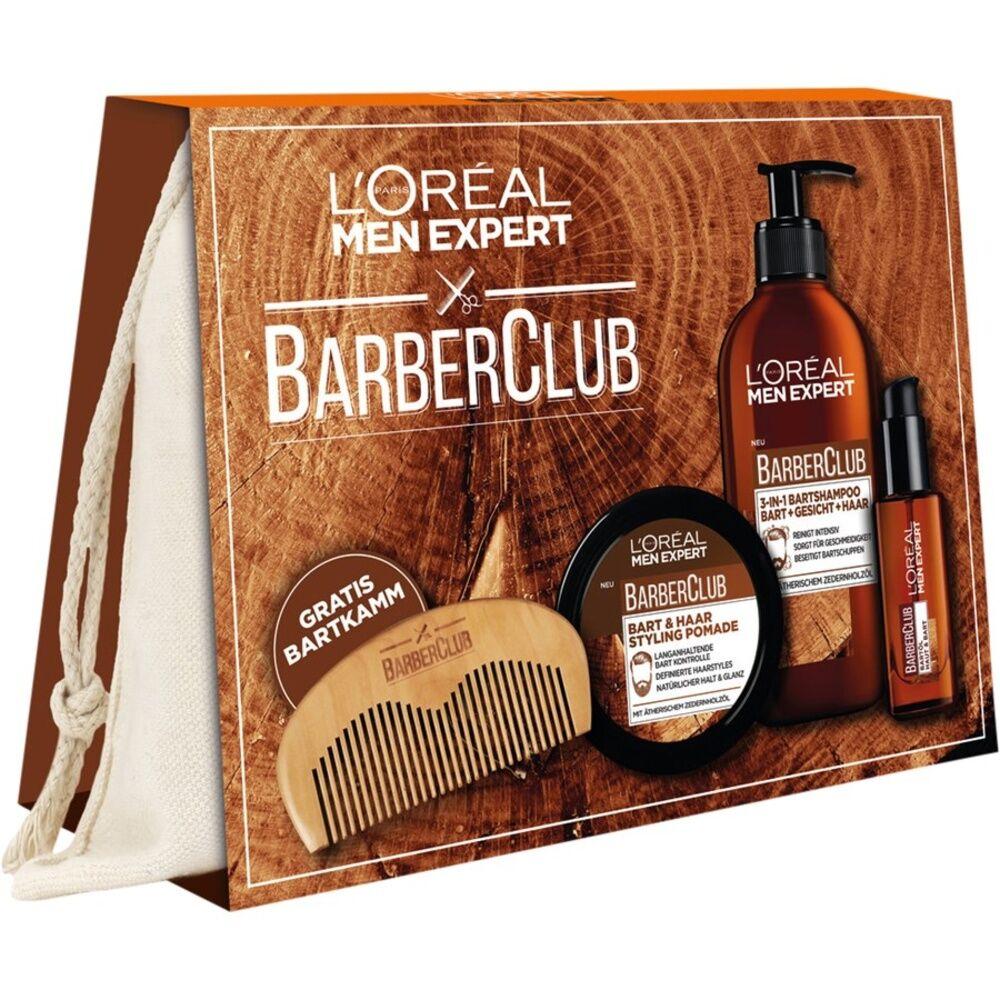L´Oréal Men Expert  Shampooing barbe 200 ml + huile barbe 30ml + baume barbe 75 ml + 1 peigne à barbe 1 Stk.