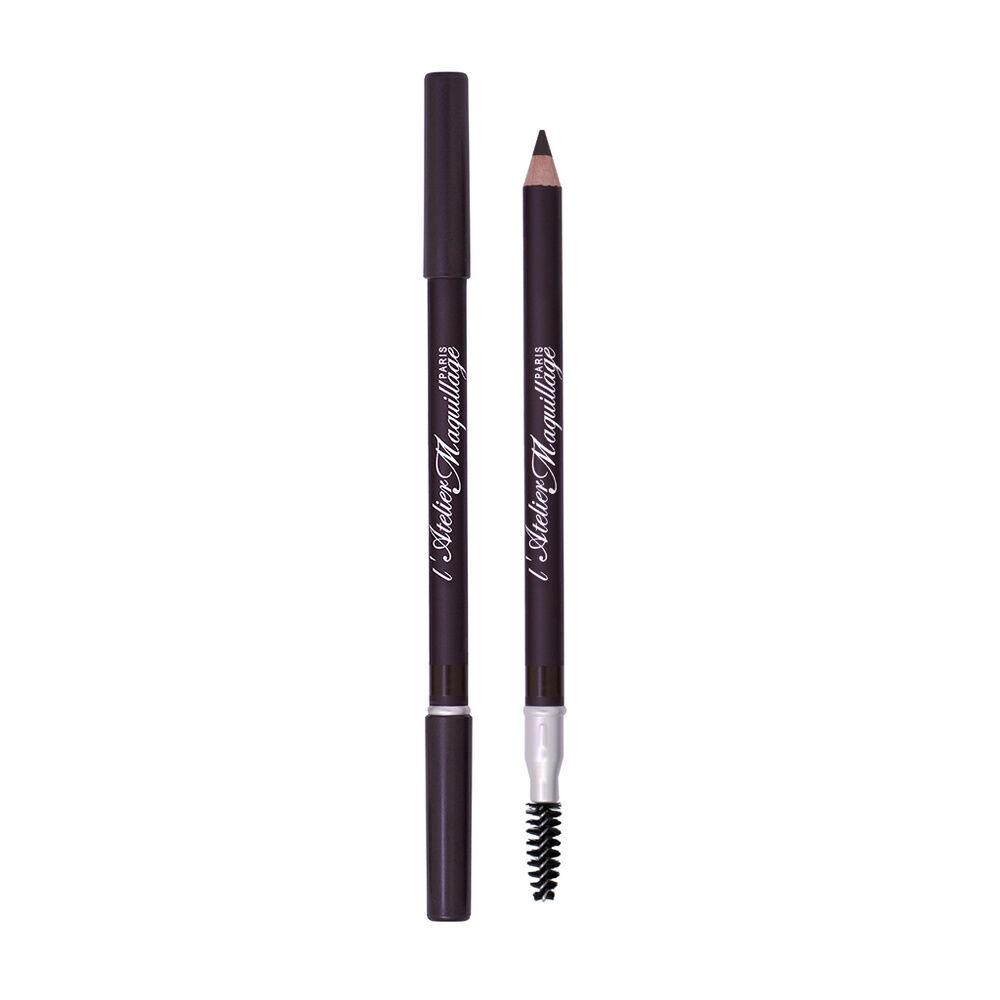 Atelier Maquillage Paris L'Atelier Maquillage Crayon Sourcils 02 - Brun/noir