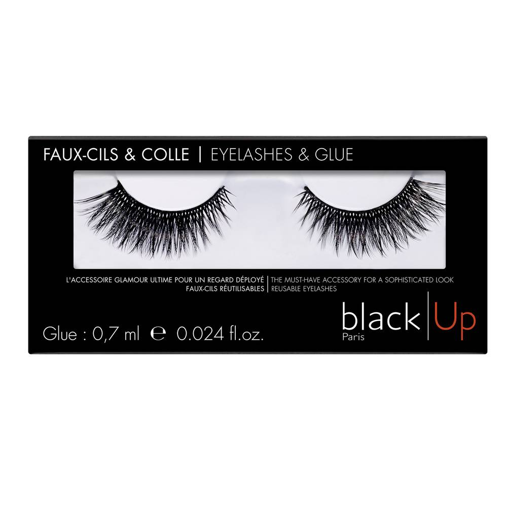 Black Up Faux Cils N°10 Faux Cils
