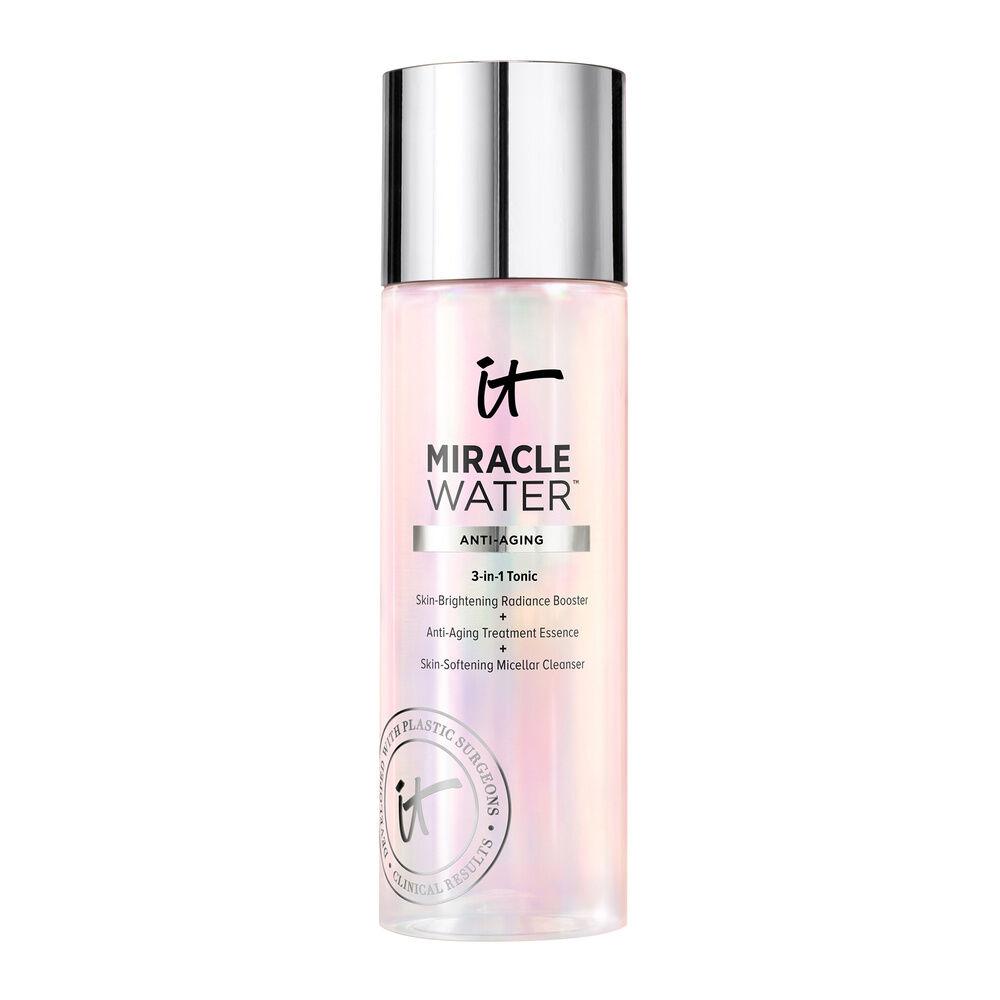 It Cosmetics Miracle Water Lotion tonique 3-en-1 : Démaquillant + Hydratant + Eclat