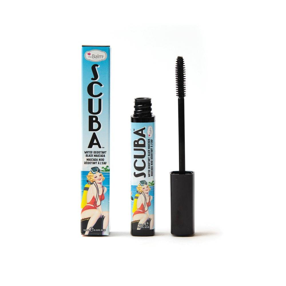THE BALM MASCARA WATERPROOF SCUBA Mascara