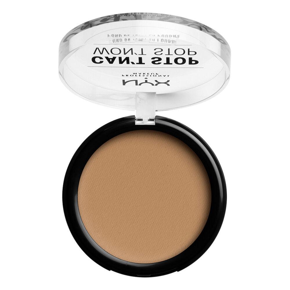 NYX Professional Makeup Cant Stop Wont Stop Fond de Teint Compact Caramel