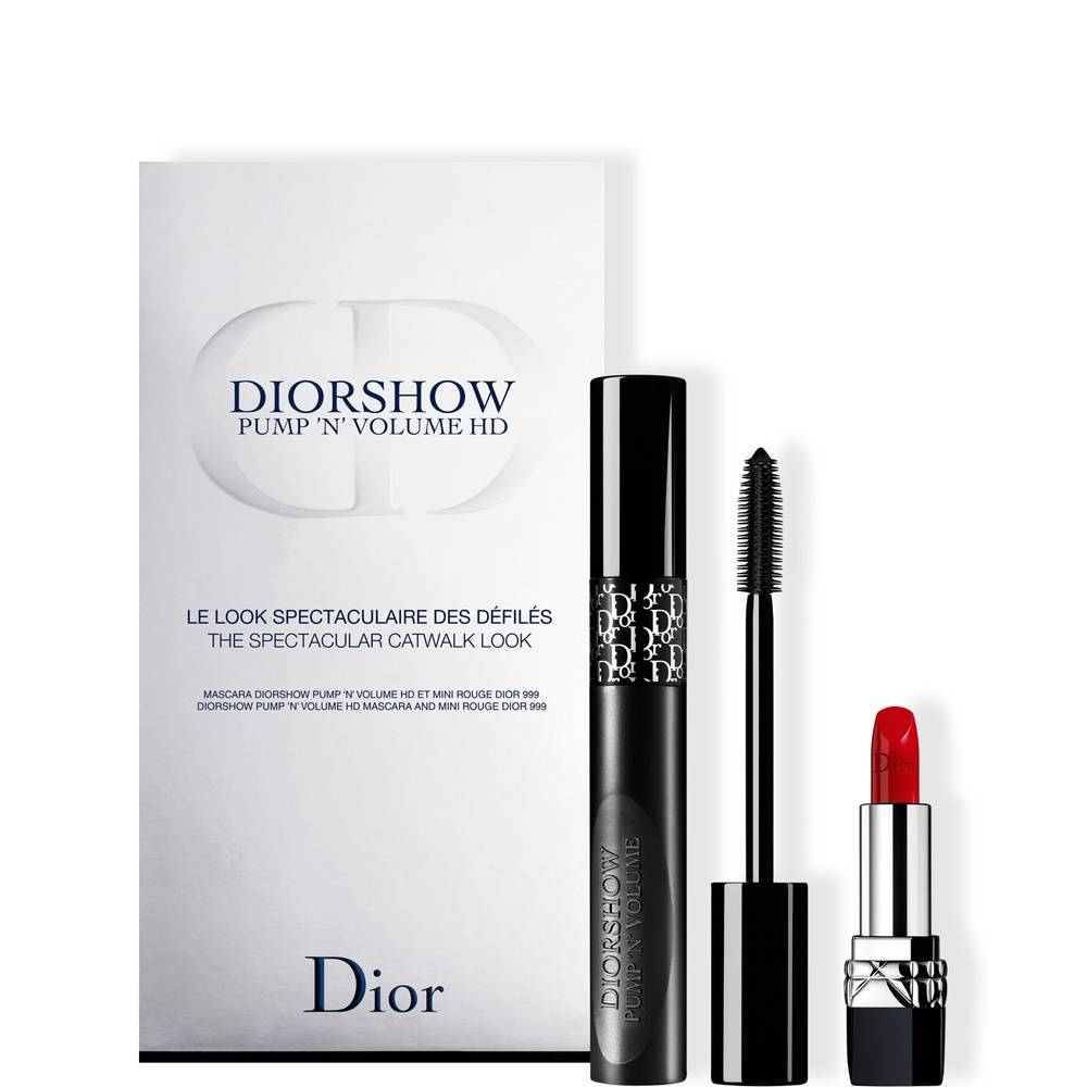 Christian Dior Diorshow Coffret Mascara Diorshow Pump'N'Volume HD + Mini Rouge Dior 999