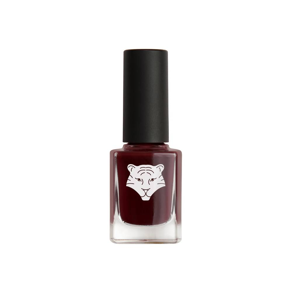 All Tigers Vernis à ongles naturel et vegan 208 ROUGE NUIT WEATHER THE STORM Vernis à ongles naturel & vegan