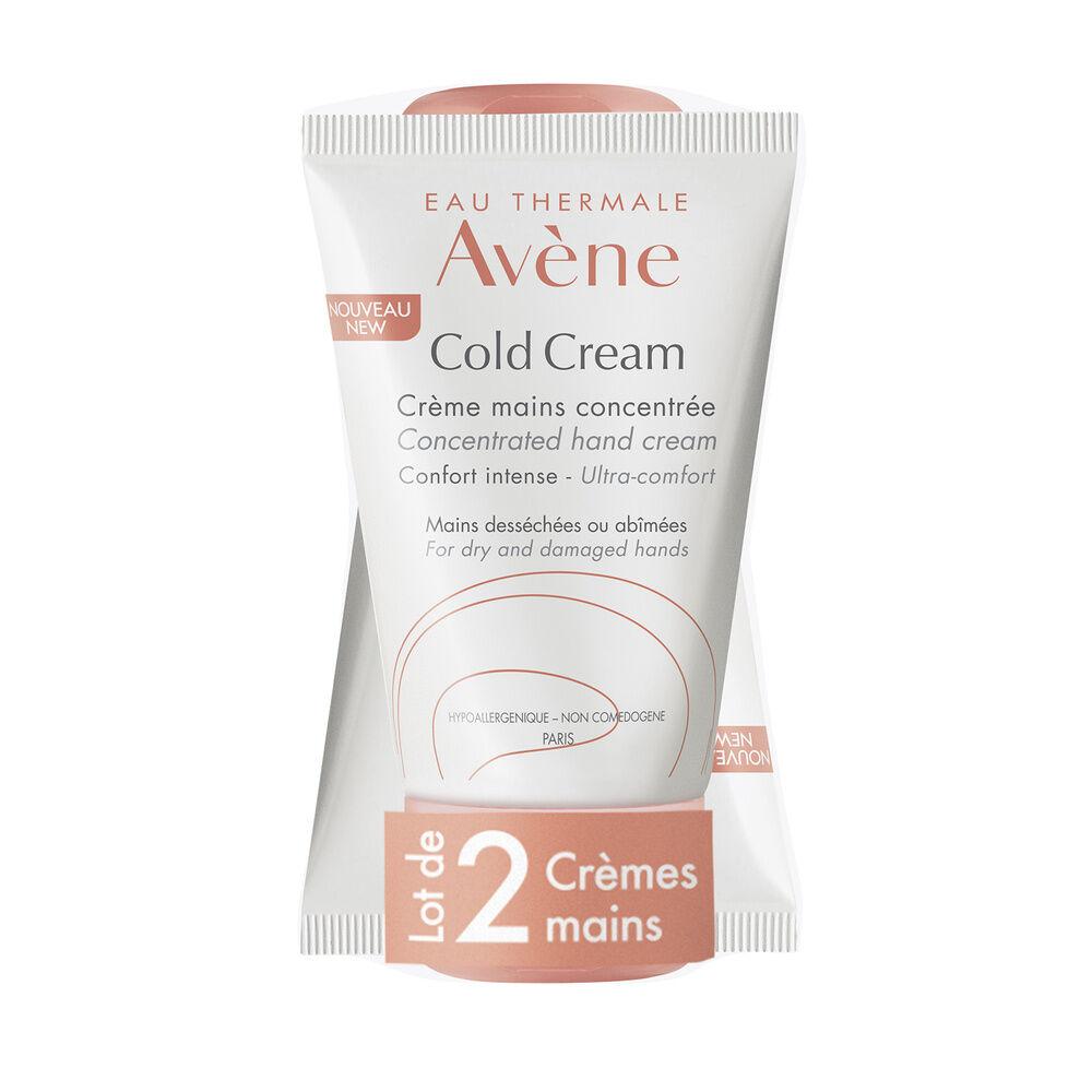 Eau thermale Avene Cold Cream Duo Crème mains  2x50ml Duo crème mains