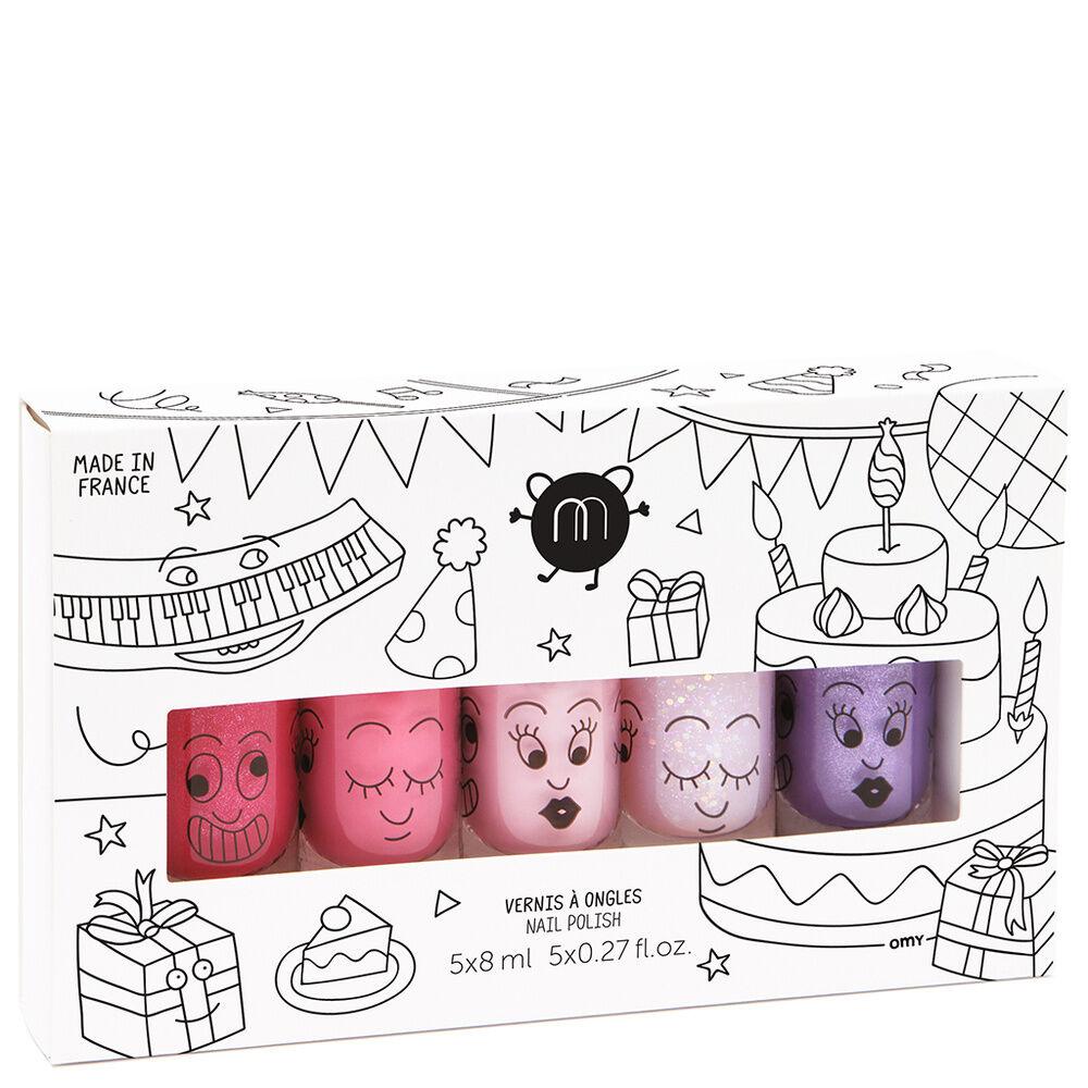 nailmatic Coffret kids Sheepy + Polly + Cookie + Kitty + Piglou