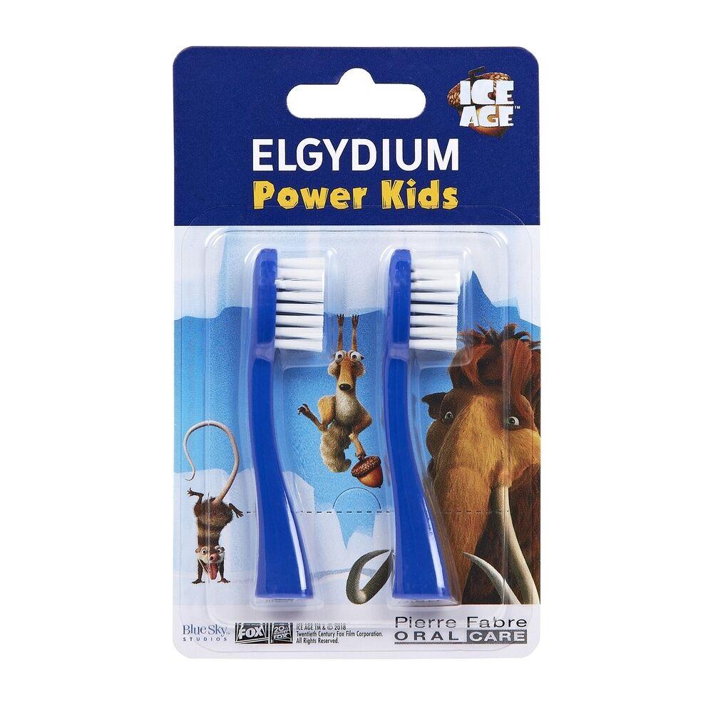 Oral Care ELGYDIUM recharge pour brosse à dents électrique AGE DE GLACE Power kids Brosse à dents