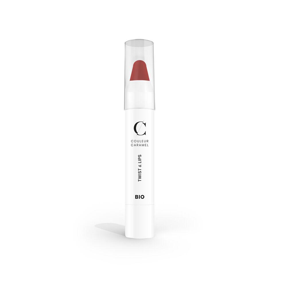 Couleur Caramel Twist & lips Rouge à lèvres