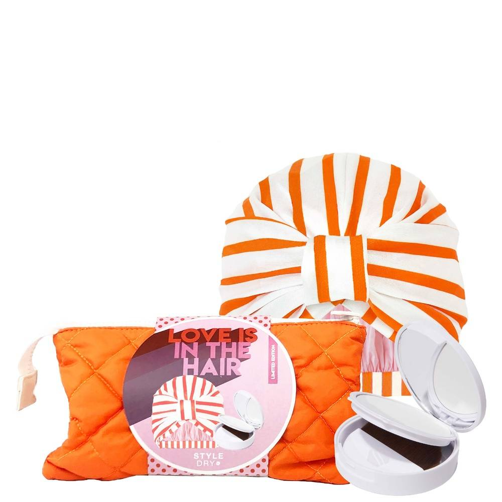 Styledry Love is in the Hair set Coffret bonnet de douche et shampoing sec