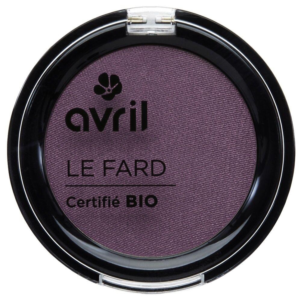 Avril Fard à paupières Prune irisé
