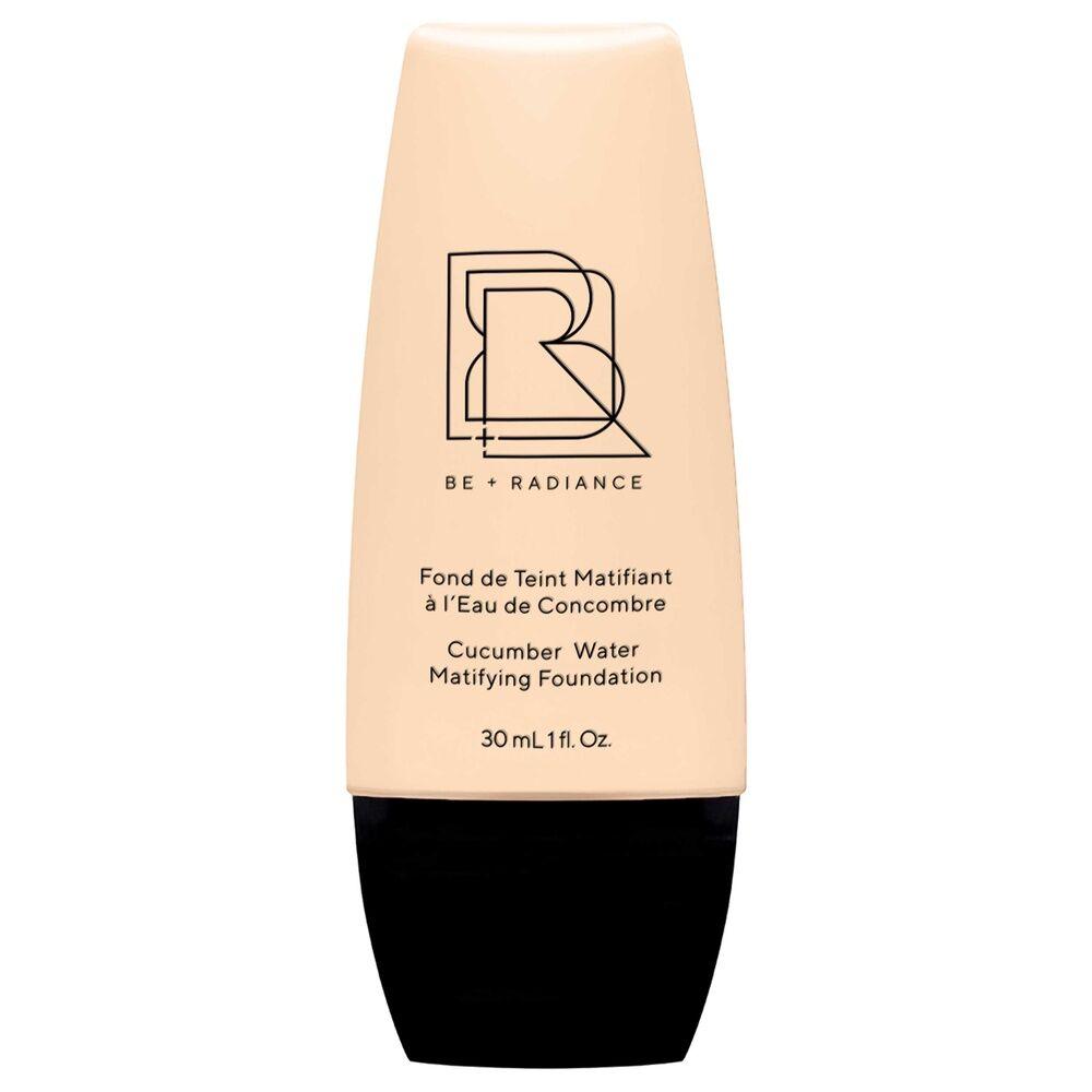 Be+radiance Fond de Teint Matifiant à l'Eau de Concombre N°08 Fond de teint liquide