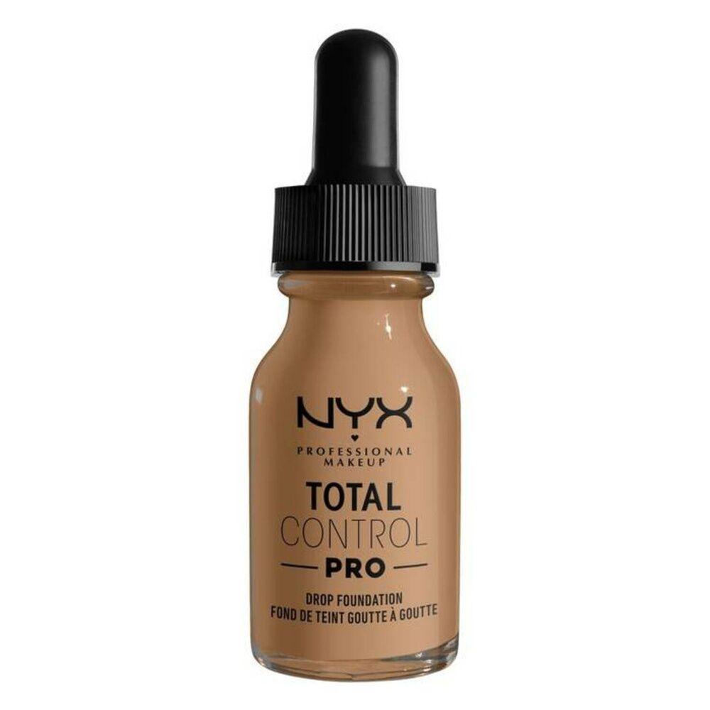 NYX Professional Makeup Total Control Drop Fond de Teint Liquide Caramel
