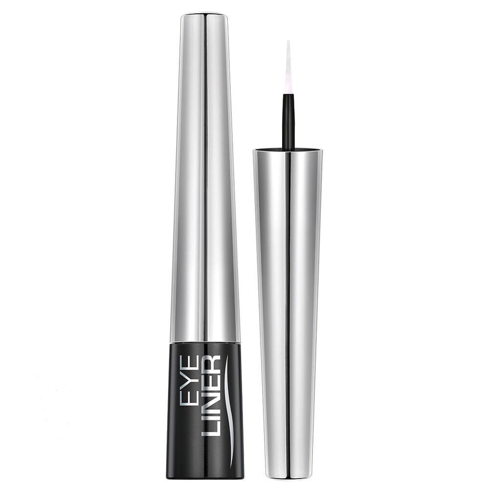 Mavala Yeux Eye-Liner Blanc Nacré, tube plastique avec pinceau mousse high tech, 4,5 ml, emballé.