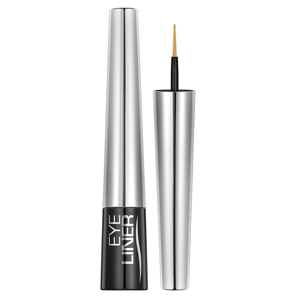 Mavala Yeux Eye-Liner Or Glamour, tube plastique avec pinceau mousse high tech, 4,5 ml, emballé.