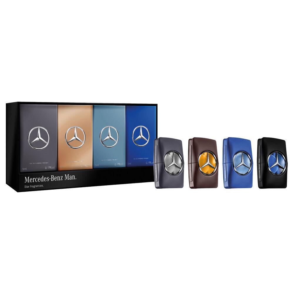 Mercedes-Benz MAN Eau de Toilette x3 + Eau de Parfum x1