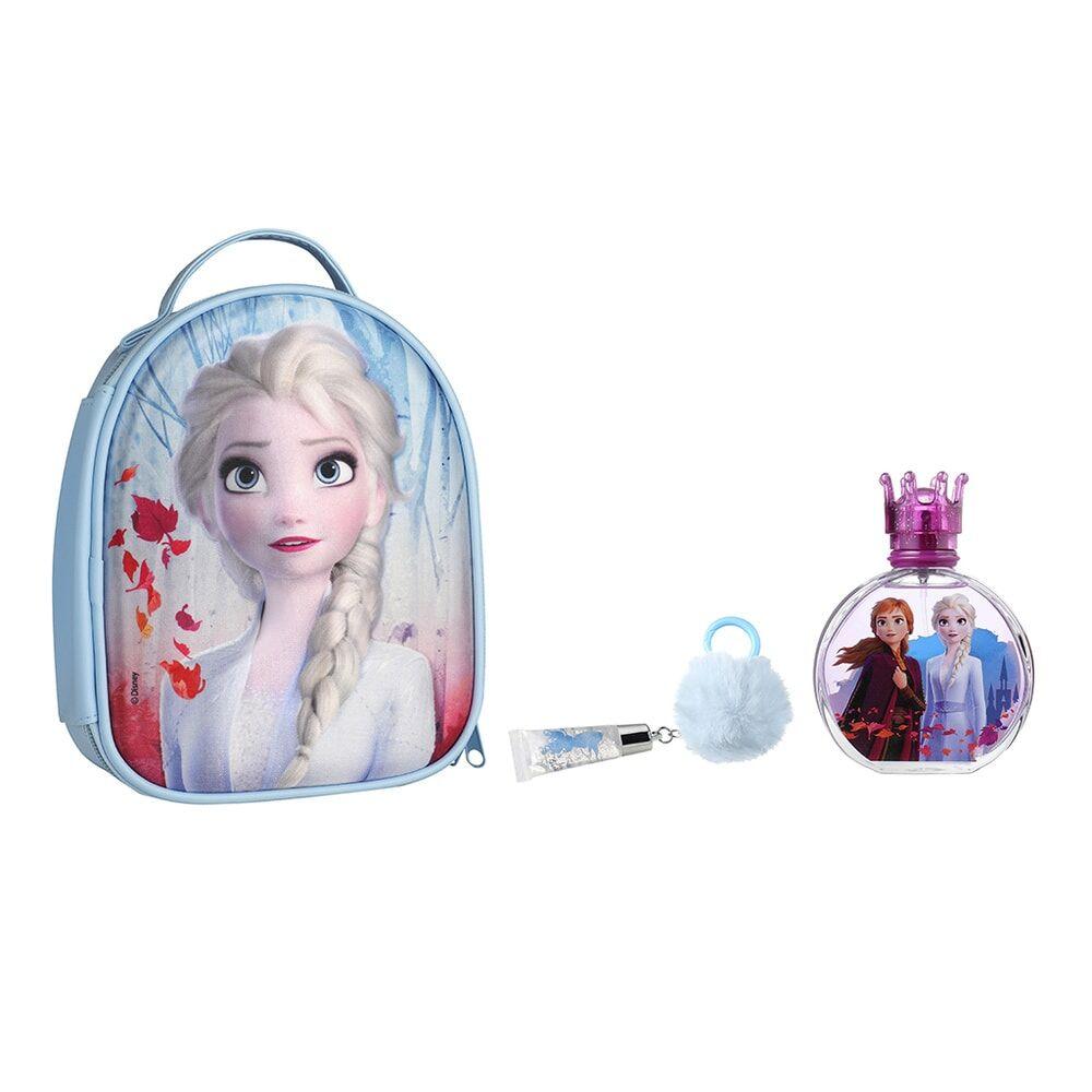 Disney Princesses Princesse La Reines des Neiges II Sac 3D Eau de Toilette 100 ml + brillant à lèvres
