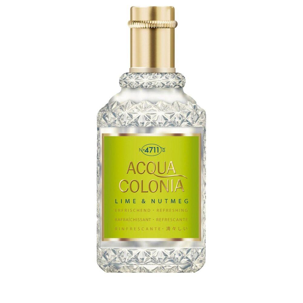 4711 Citron Vert & Noix de Muscade 50ml Flacon Splash & Spray Eau de Cologne