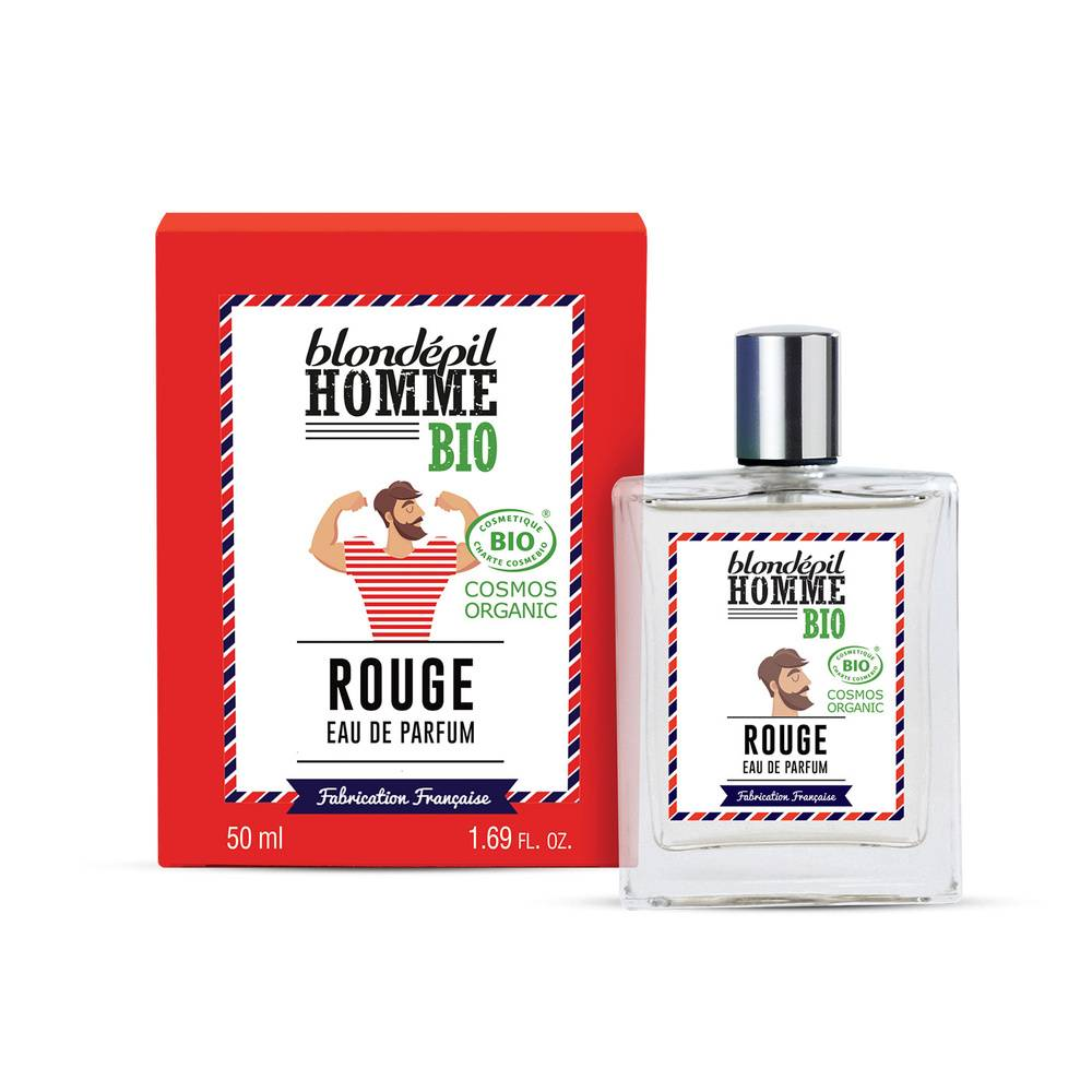 blondepil EAU DE PARFUM ROUGE - Certifiée BIO COSMOS Eau de Parfum
