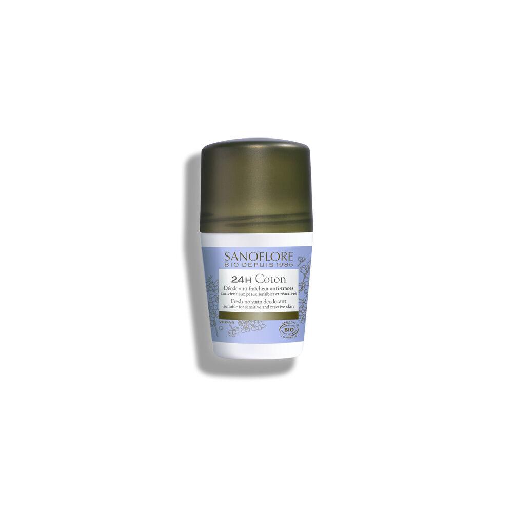 Sanoflore Pureté de lin Déodorant sans sels d'aluminium anti-traces certifié Bio