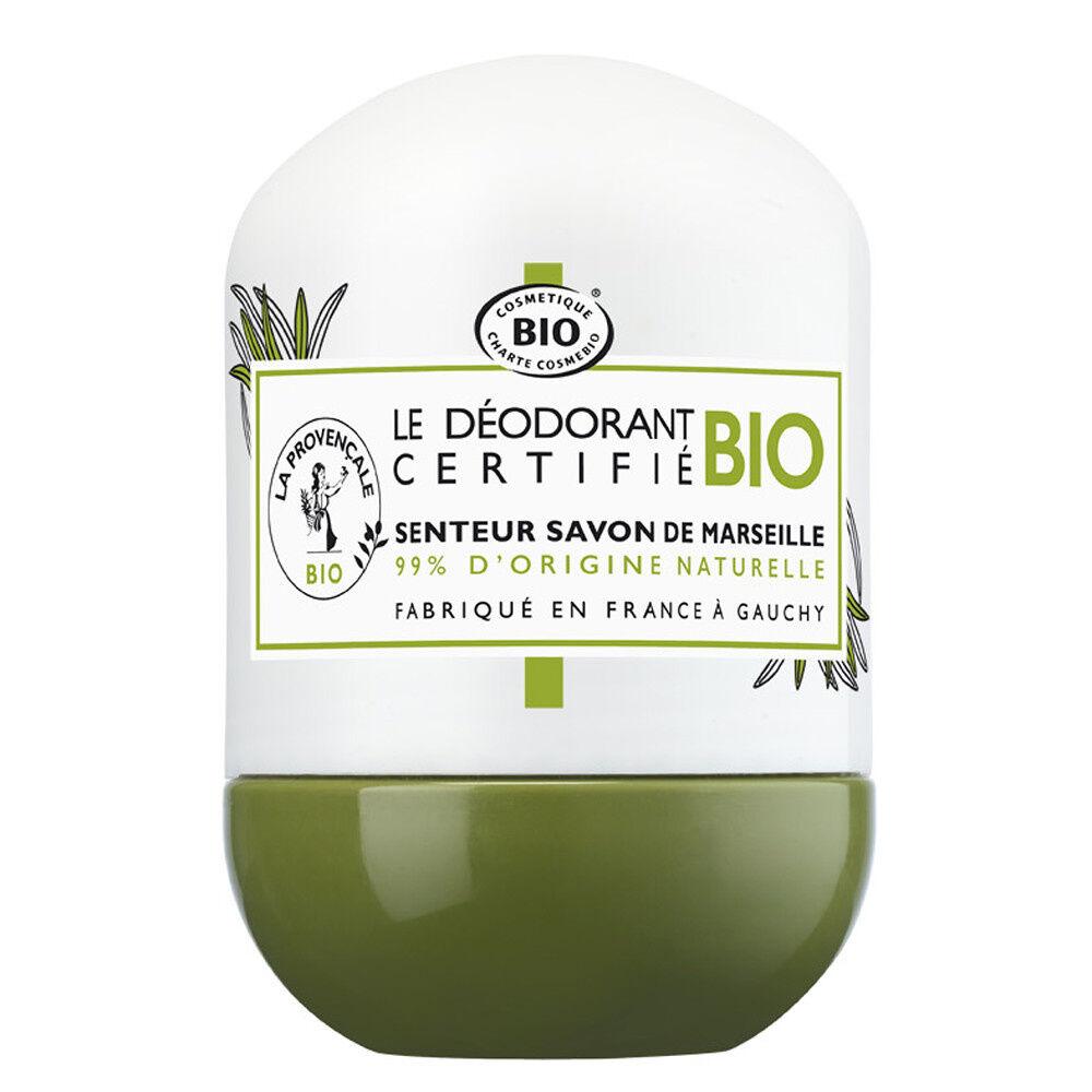 La Provençale Le Déodorant Fraîcheur Senteur Savon deMarseille Déodorant Bille Bio