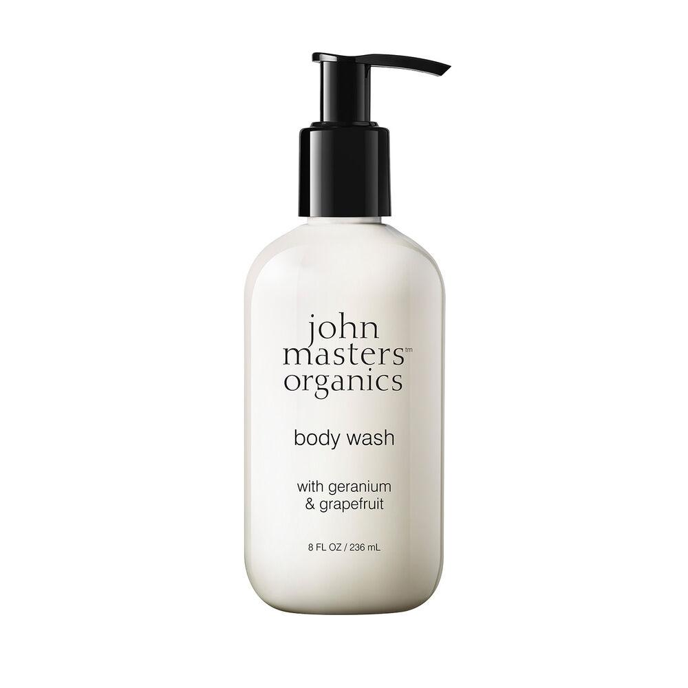 John Masters Organics Gel douche géranium et pamplemousse Gel douche