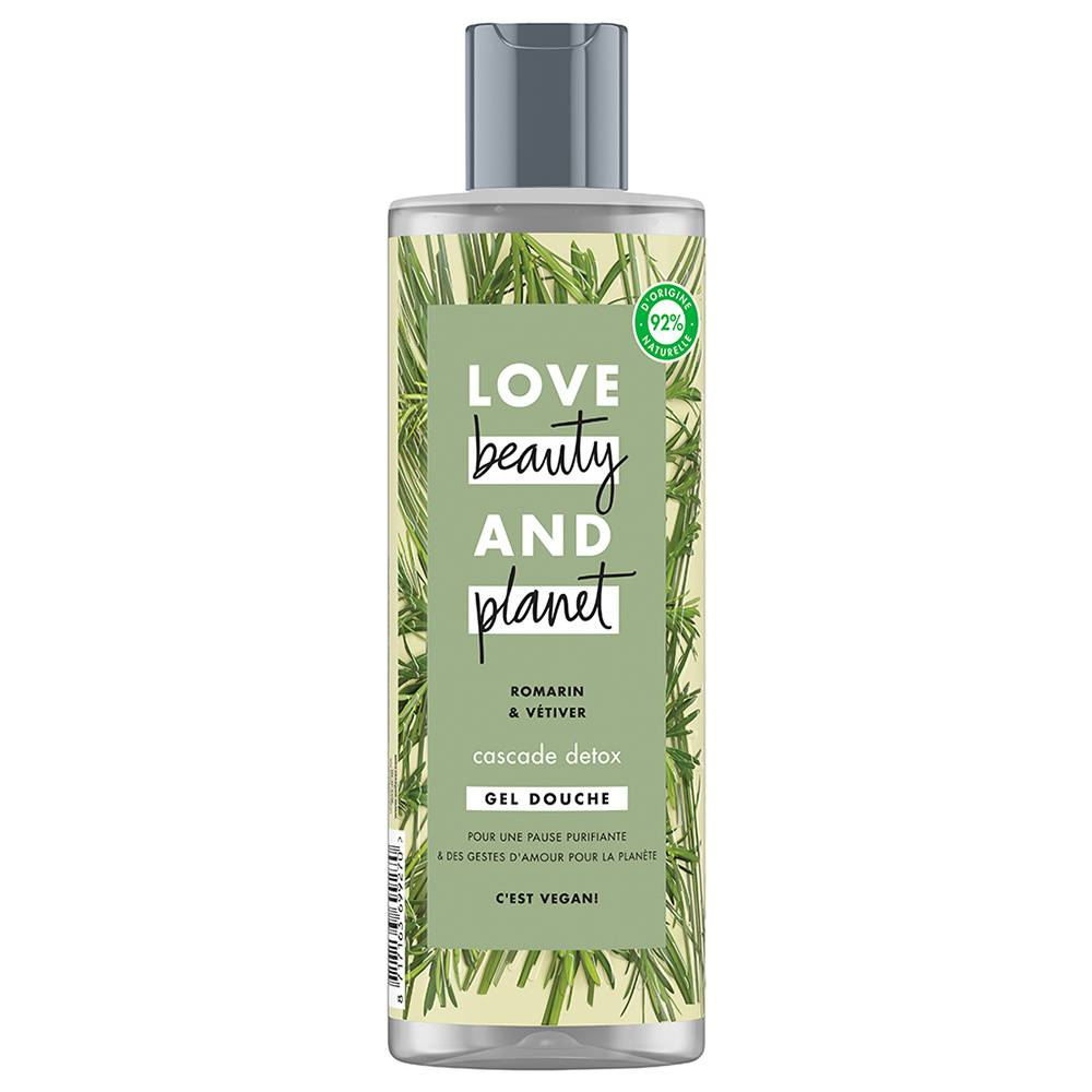 Love Beauty And Planet Gel Douche Cascade Détox Produits de bain & douches