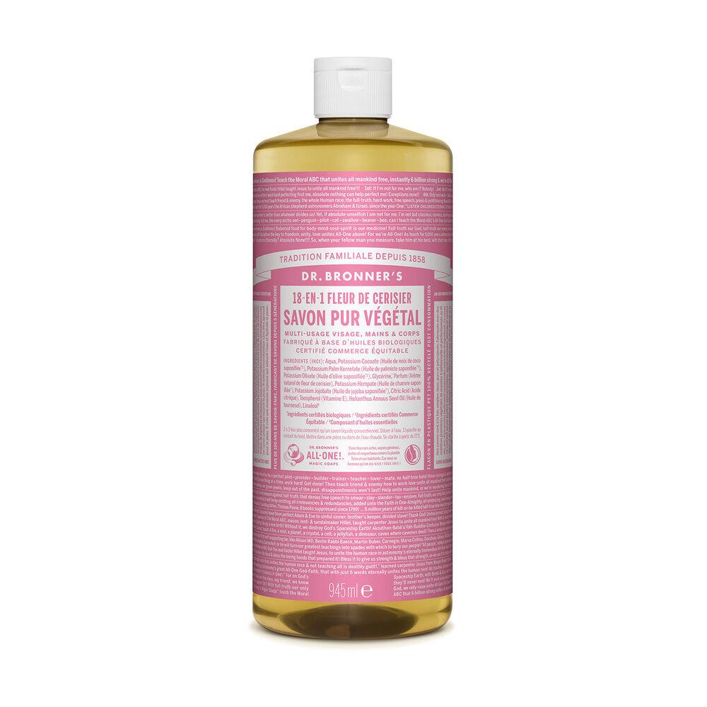Dr Bronner's - Savon liquide Fleur de Cerisier - 945ml Savon liquide