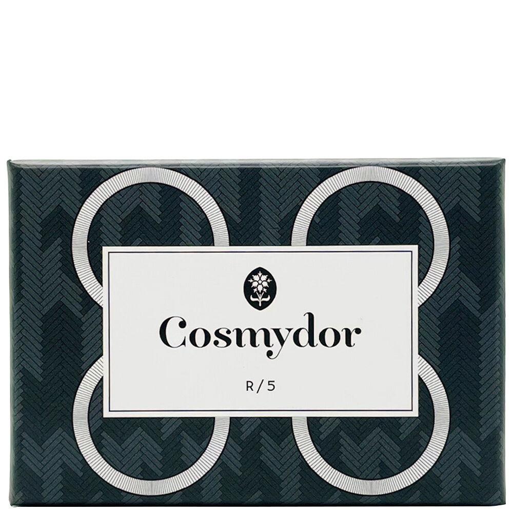 Cosmydor R/5 Savon artisanal au cèdre & au charbon végétal - exfoliant visage Savon solide bio saponifié à froid