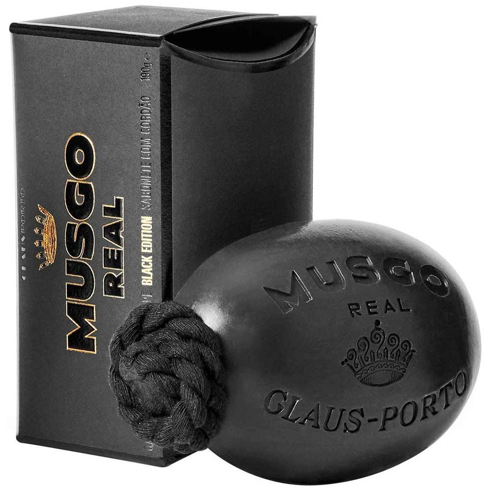 Claus Porto  Black Edition Soap On A Rope