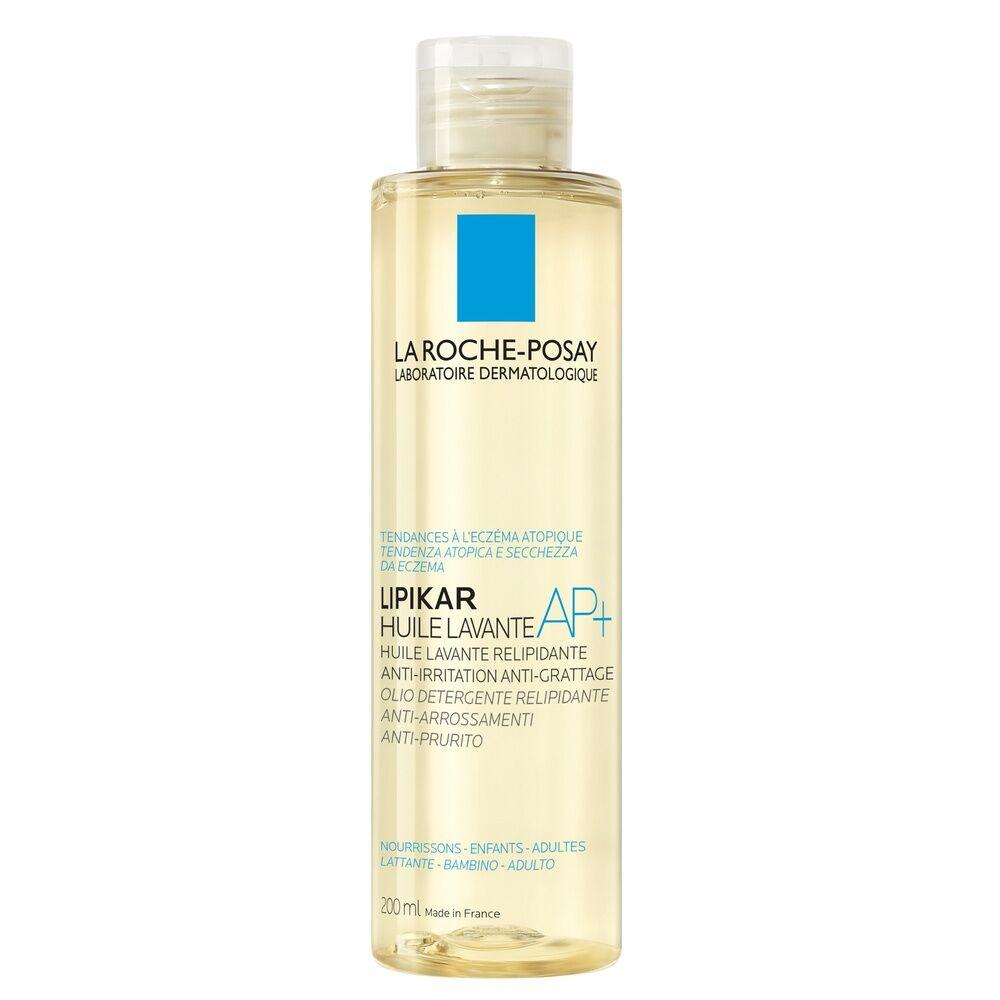 La Roche Posay Lipikar Huile lavante AP+ relipidante anti-grattage 200ml Huile lavante peaux sèches et à tendance eczema atopique corps et visage