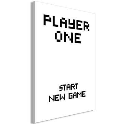 Artgeist 60x90 - Tableau - Start New Game (1 Pat) Vertical