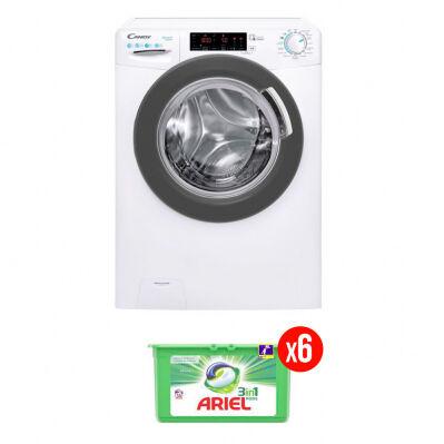 Candy Lave-linge frontal CANDY - 10 kg - 1400 trs/min - Active Motion - classe A - blanc + 6 mois de lessive Ariel