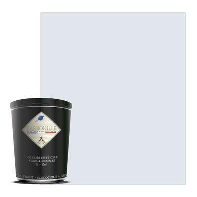 Barbouille Peinture lessivable acrylique velours – murs et plafonds - 1 ltr Blanc - Innocent