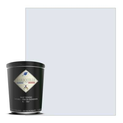 Barbouille Peinture lessivable acrylique mat – murs et plafonds - 1 ltr Blanc - Innocent