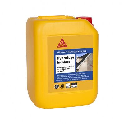 Sika Hydrofuge incolore pour façades prêt à l'emploi - Sikagard Protection Façade - 5 L / 30 m²