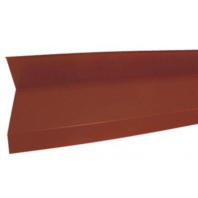 Mccover Rive contre mur 2100mm Rouge 8012, L : 2100mm
